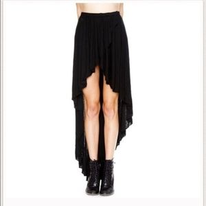BUNDLE!!Brandy Melville HiLo Skirt (Grey and Blk)